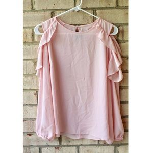 BCX Light Pink Blouse🎀